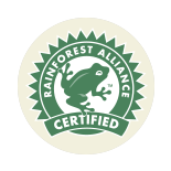 Certificado Rainforest Alliance